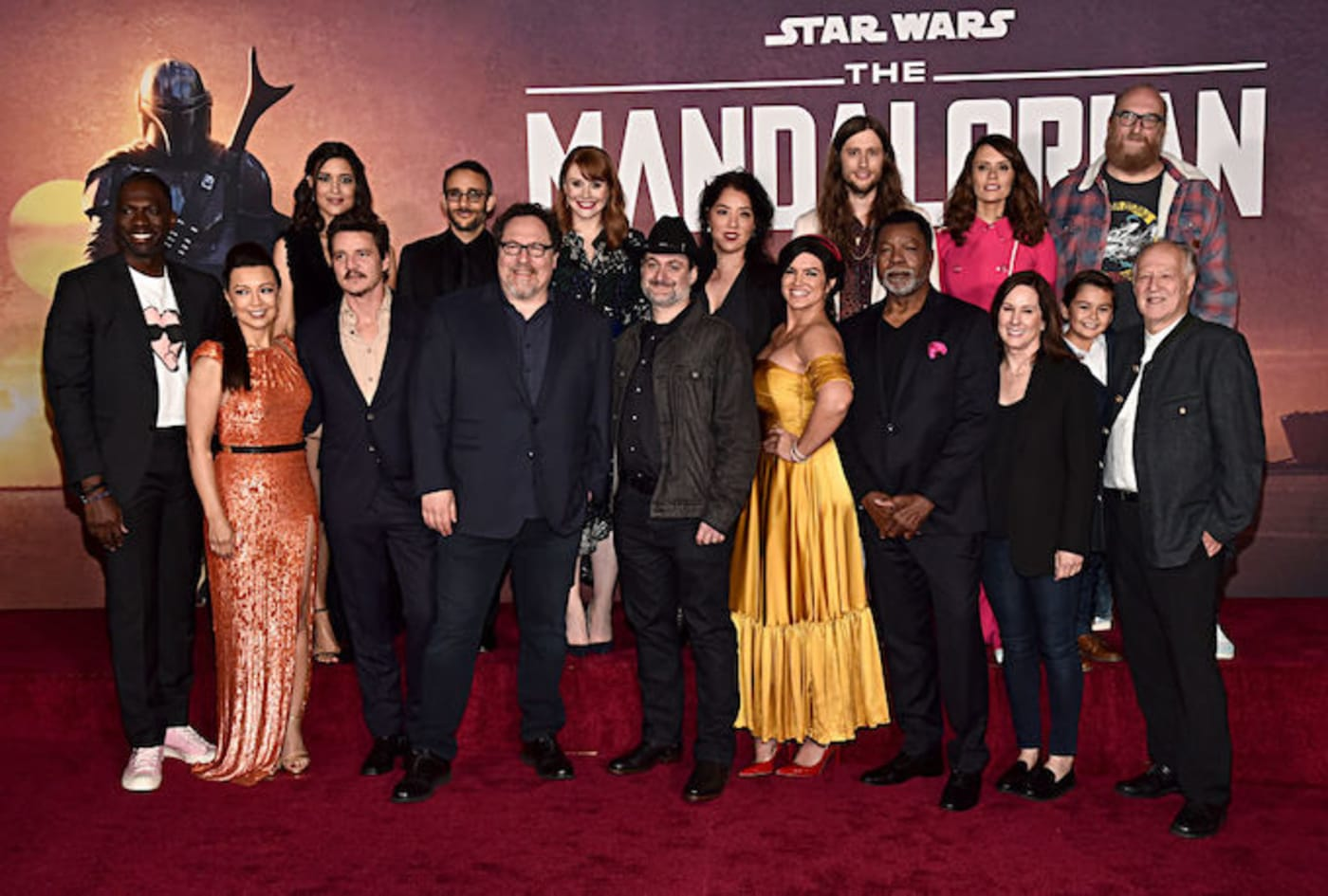 This is a picture of the Mandalorian.