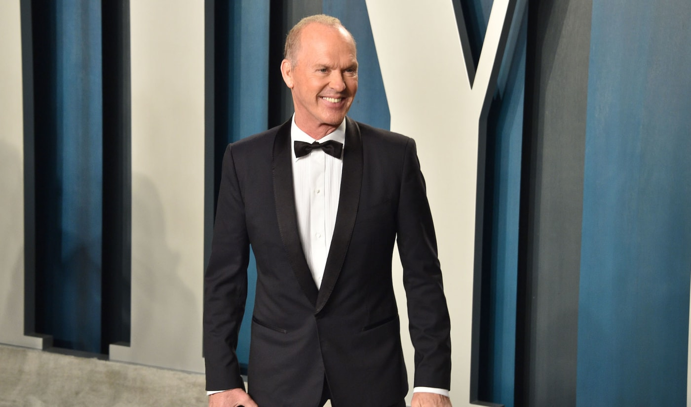 Michael Keaton at Oscars