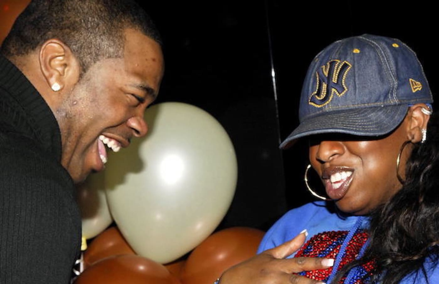 Busta Rhymes and Missy Elliott