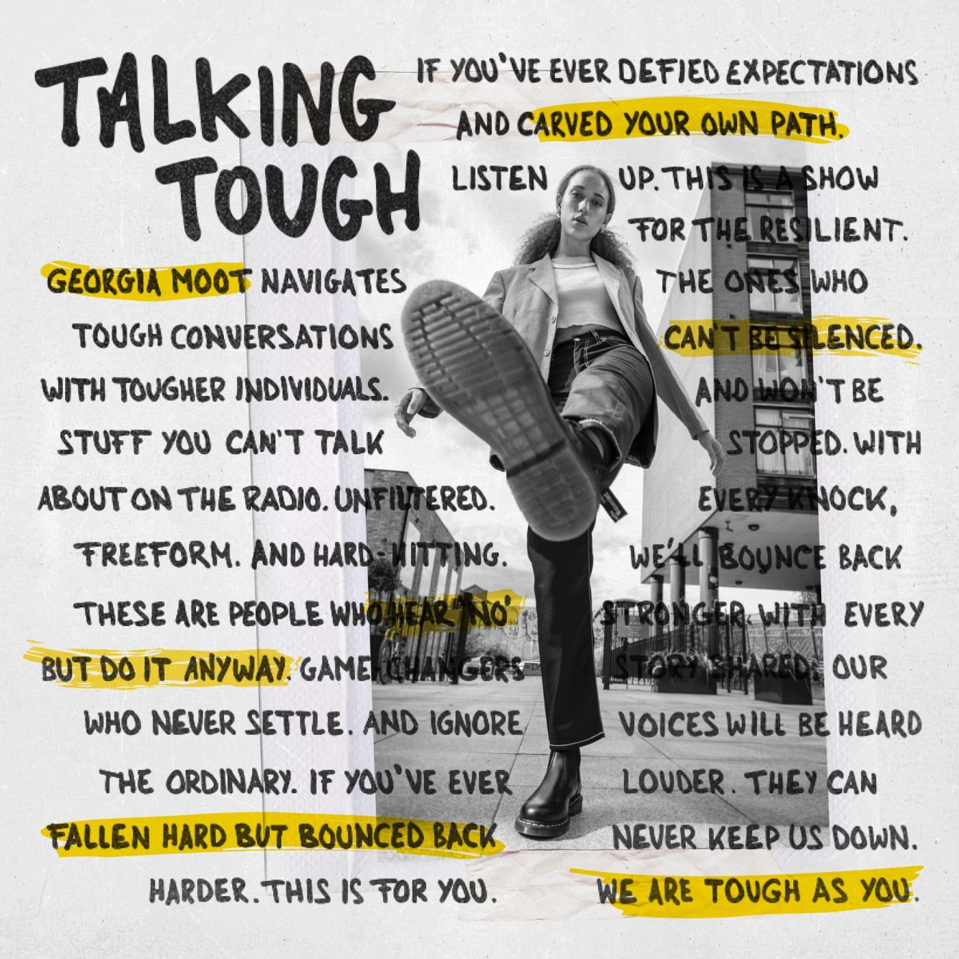 dr martens talking tough
