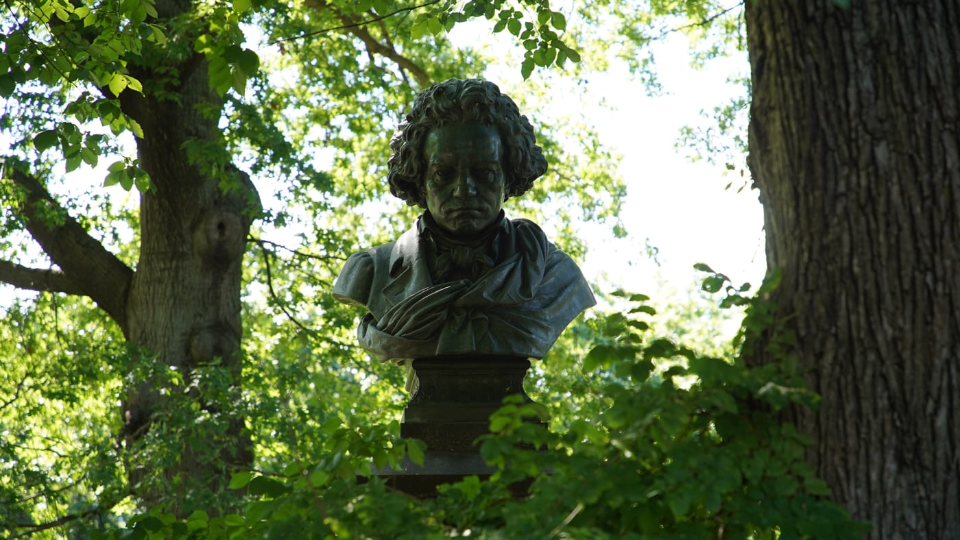 Beethoven Statue in New York City.