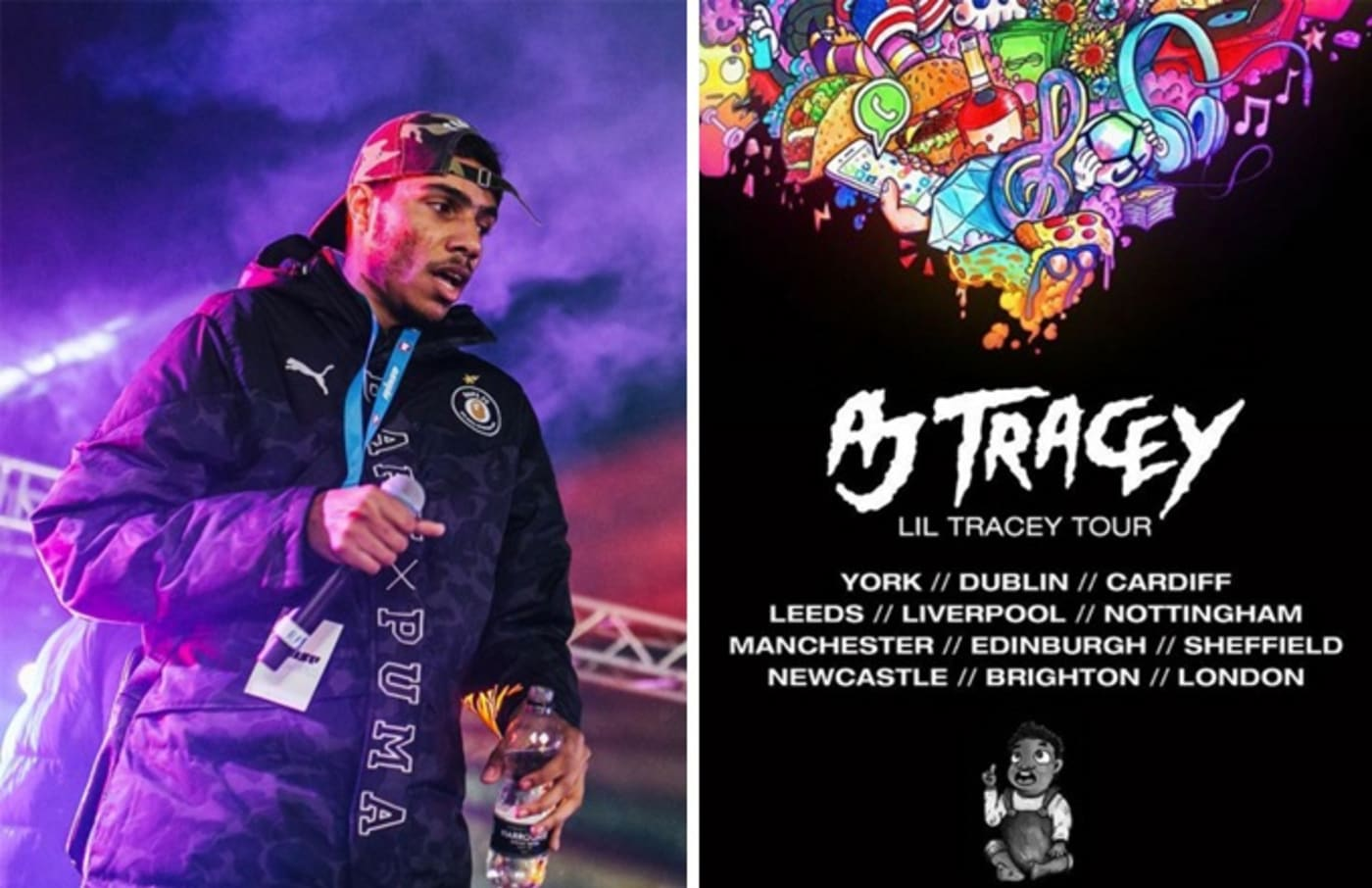 aj tracey uk tour