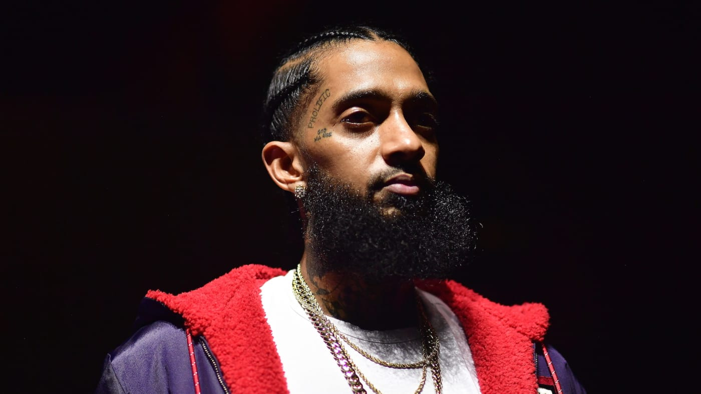 Rapper Nipsey Hussle attends A Craft Syndicate Music Collaboration Unveiling Event