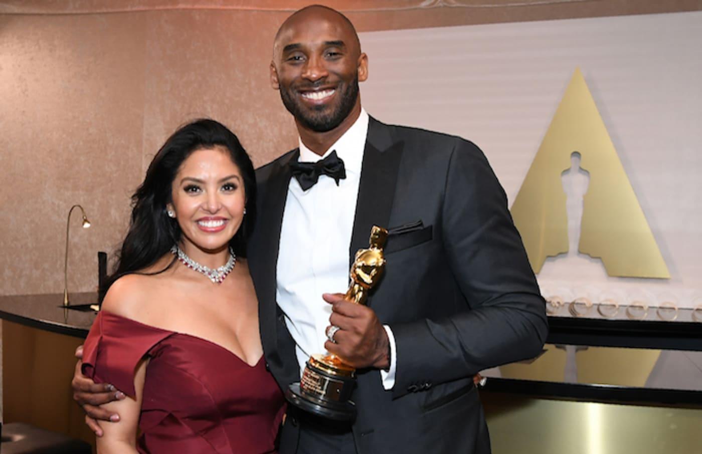 Kobe Bryant and Vanessa Laine Bryant.