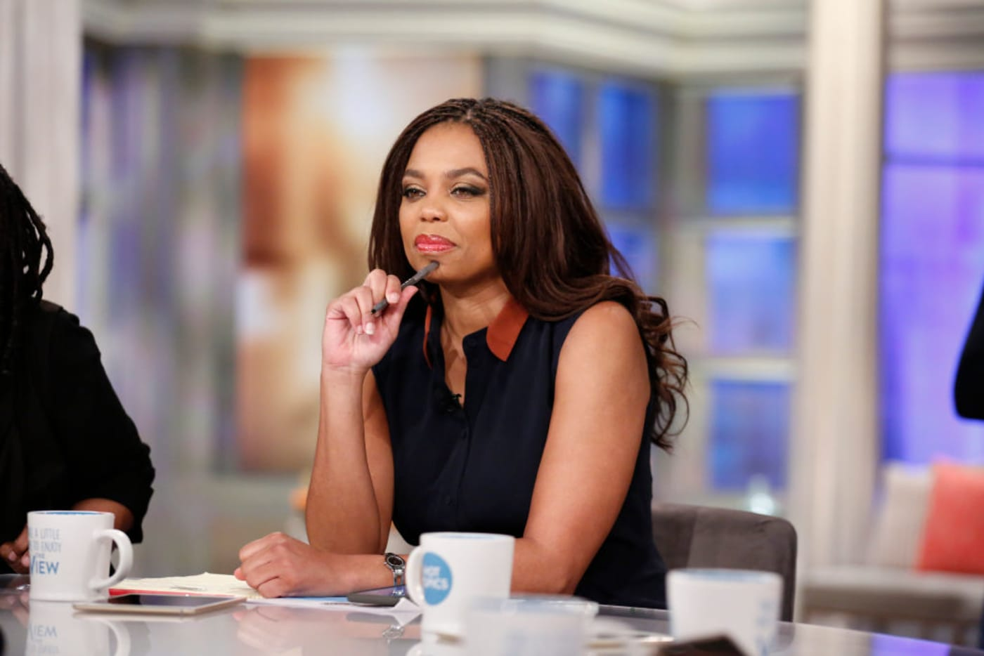Jemele Hill The View 2018 Getty