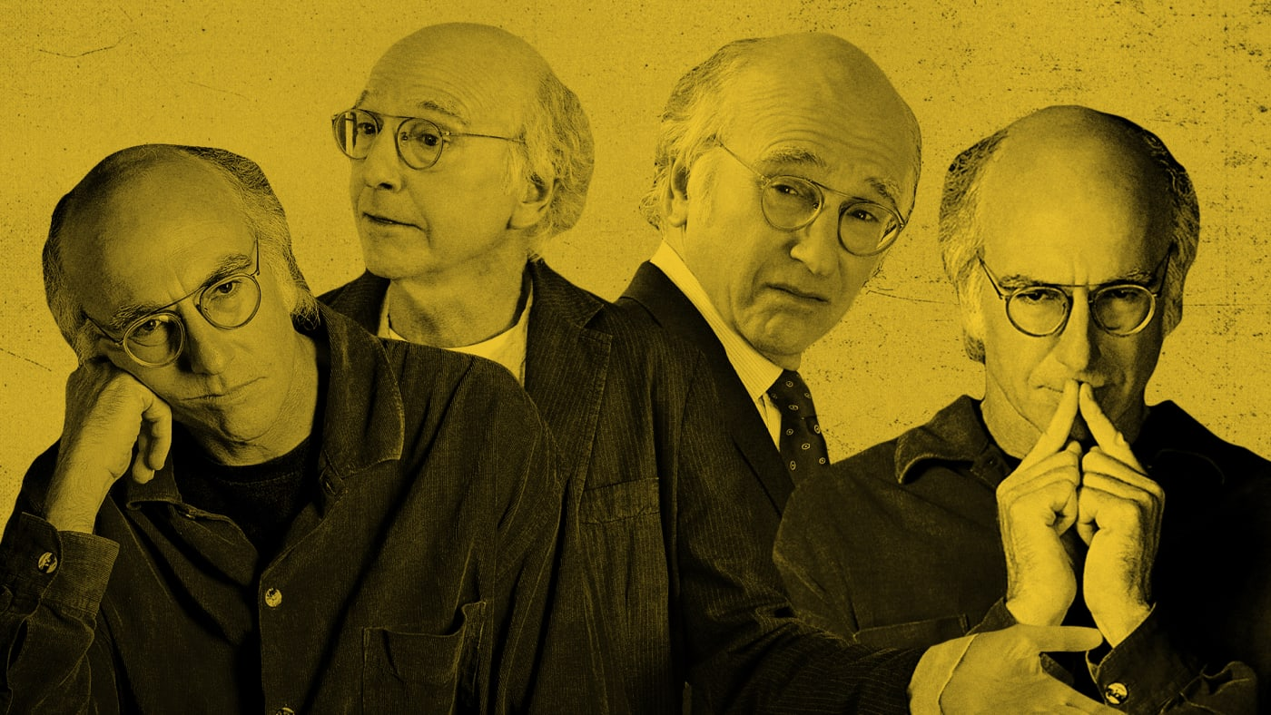 The many faces of 'Curb Your Enthusiasm' star Larry David