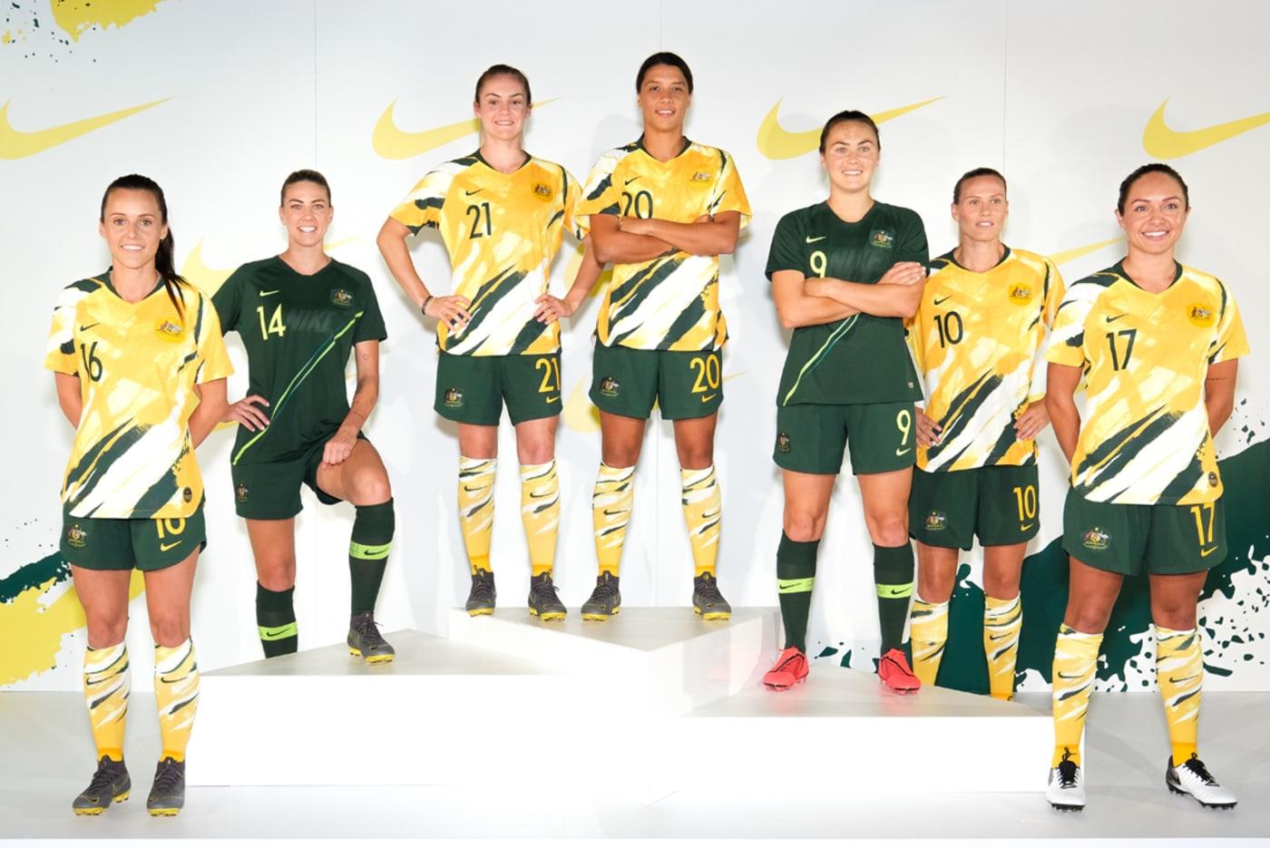 Australia Matildas Womens World Cup Jersey reveal