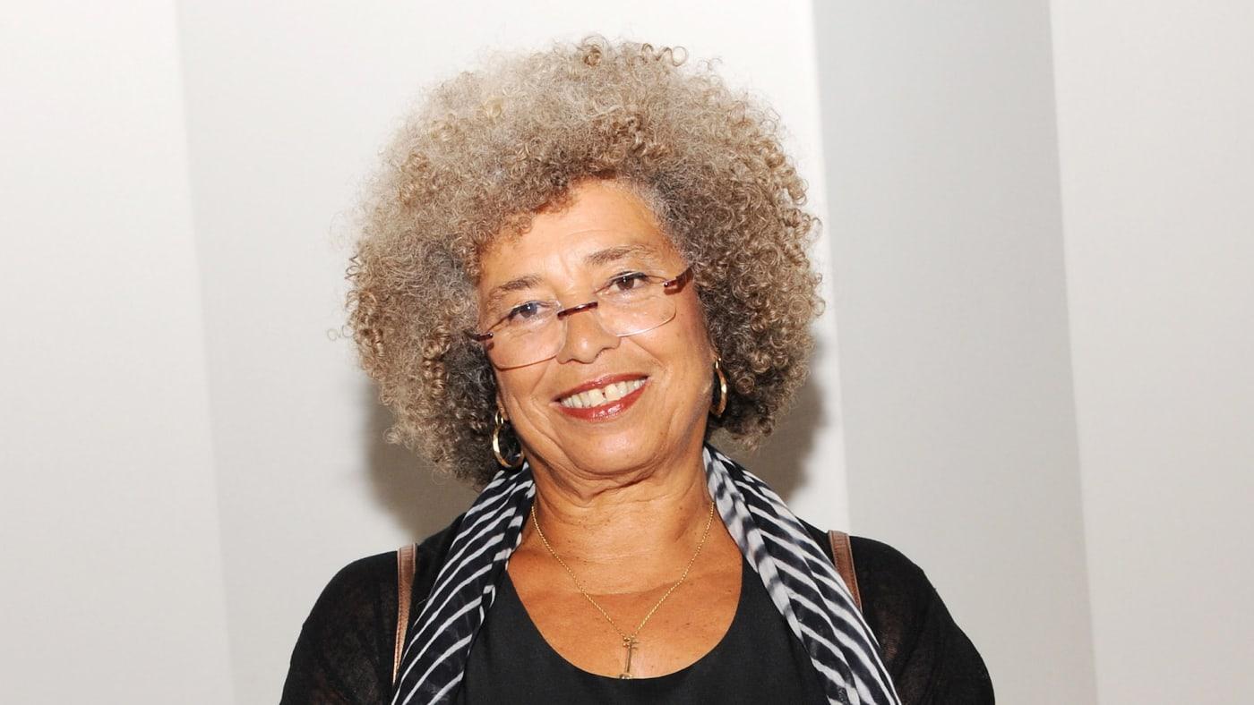 Honoree/activist Angela Y. Davis