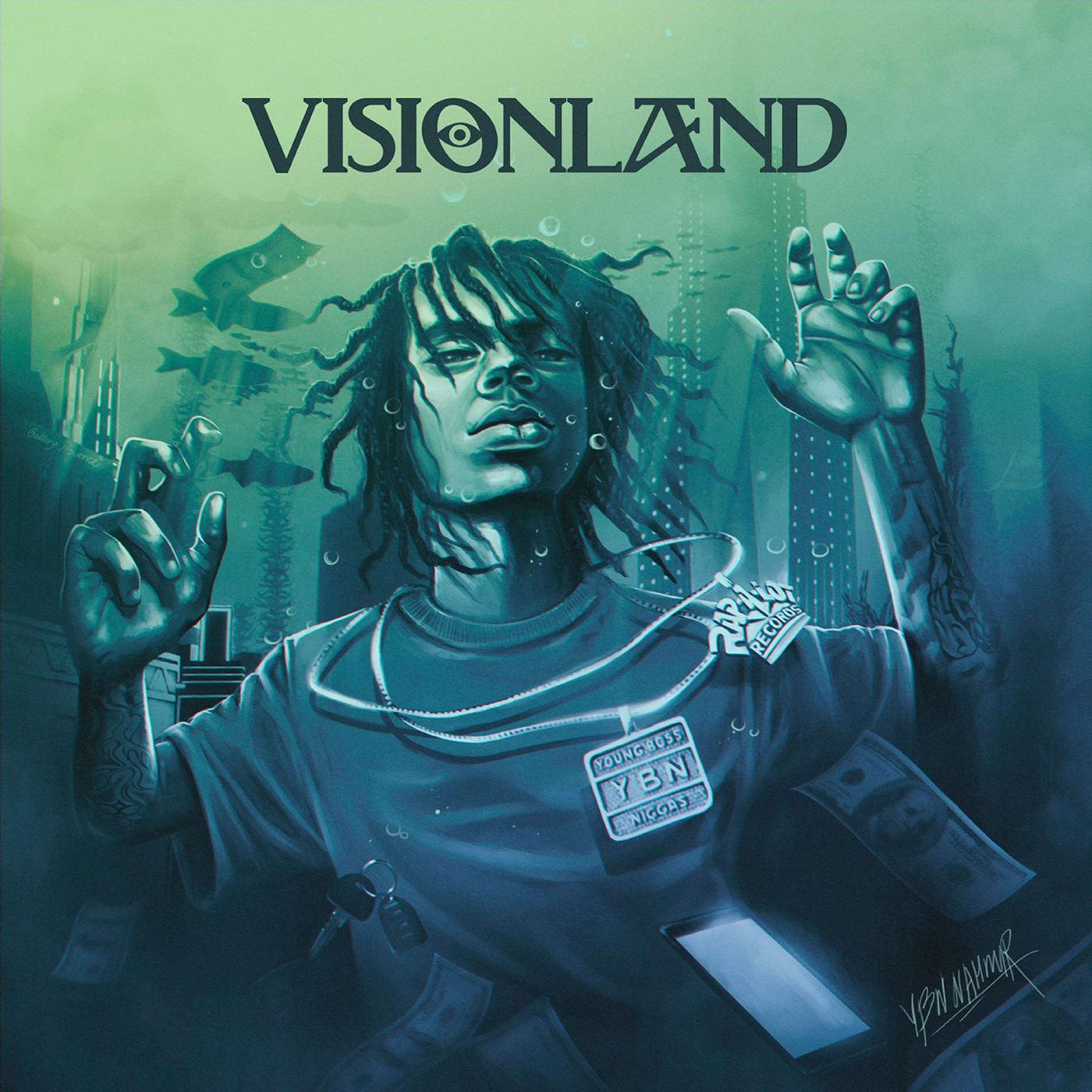 YBN Nahmir Visionland Artwork