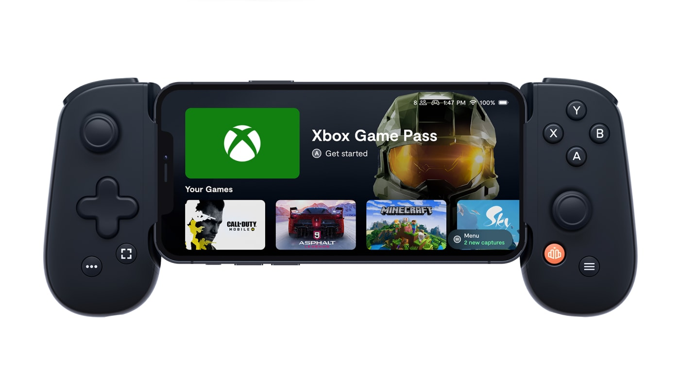 Backbone iPhone Xbox Game Pass