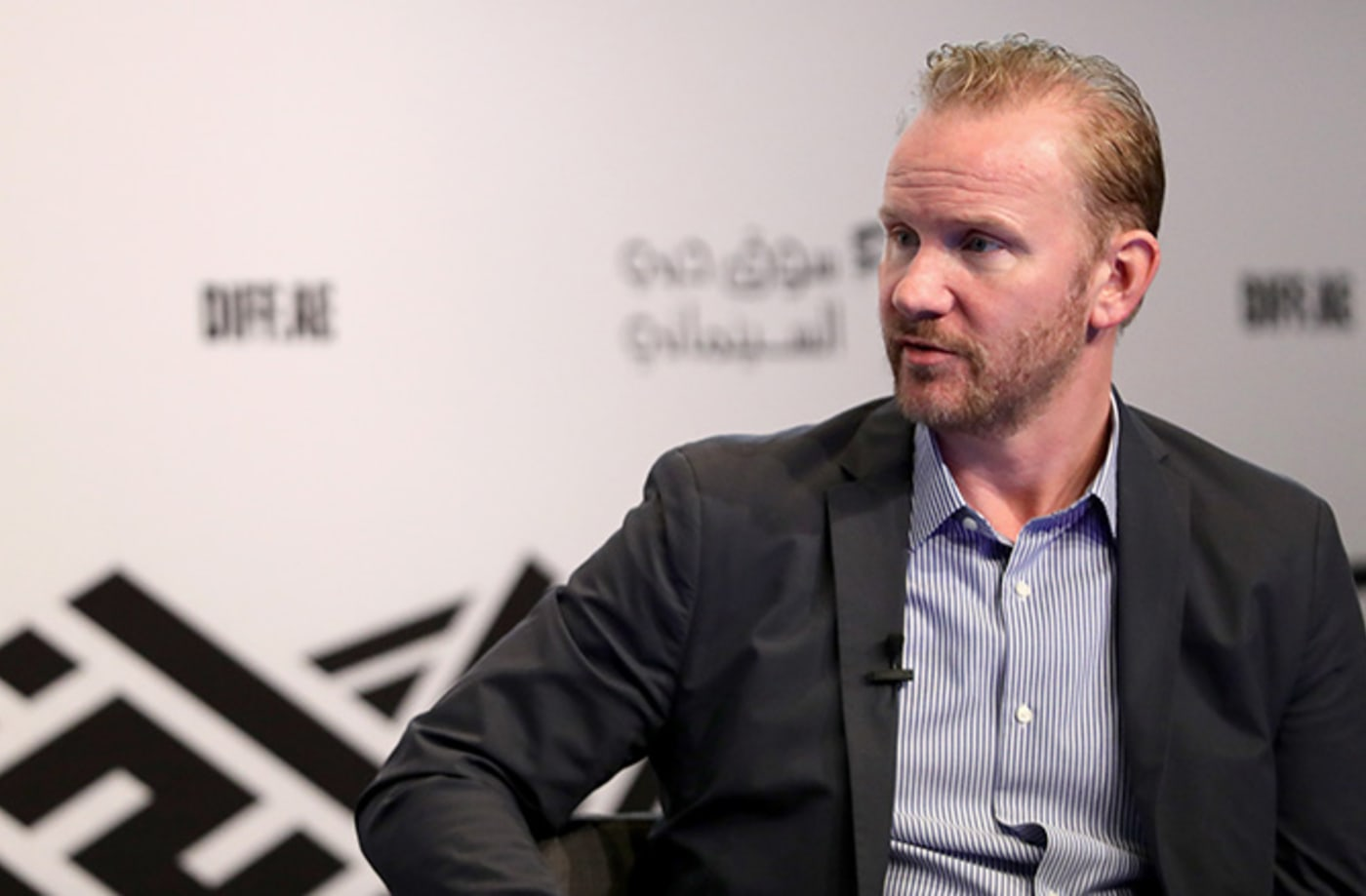 This is a photo of Morgan Spurlock.