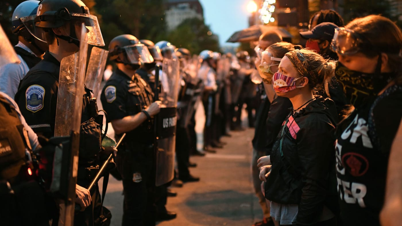 Protesters in Washington D.C.