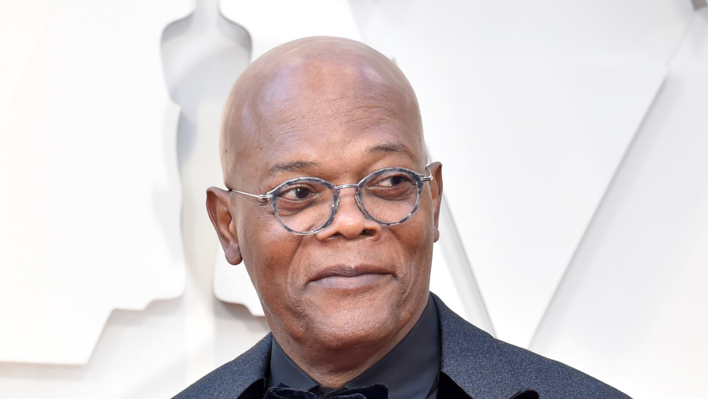 Samuel L. Jackson attends the 91st Annual Academy Awards.