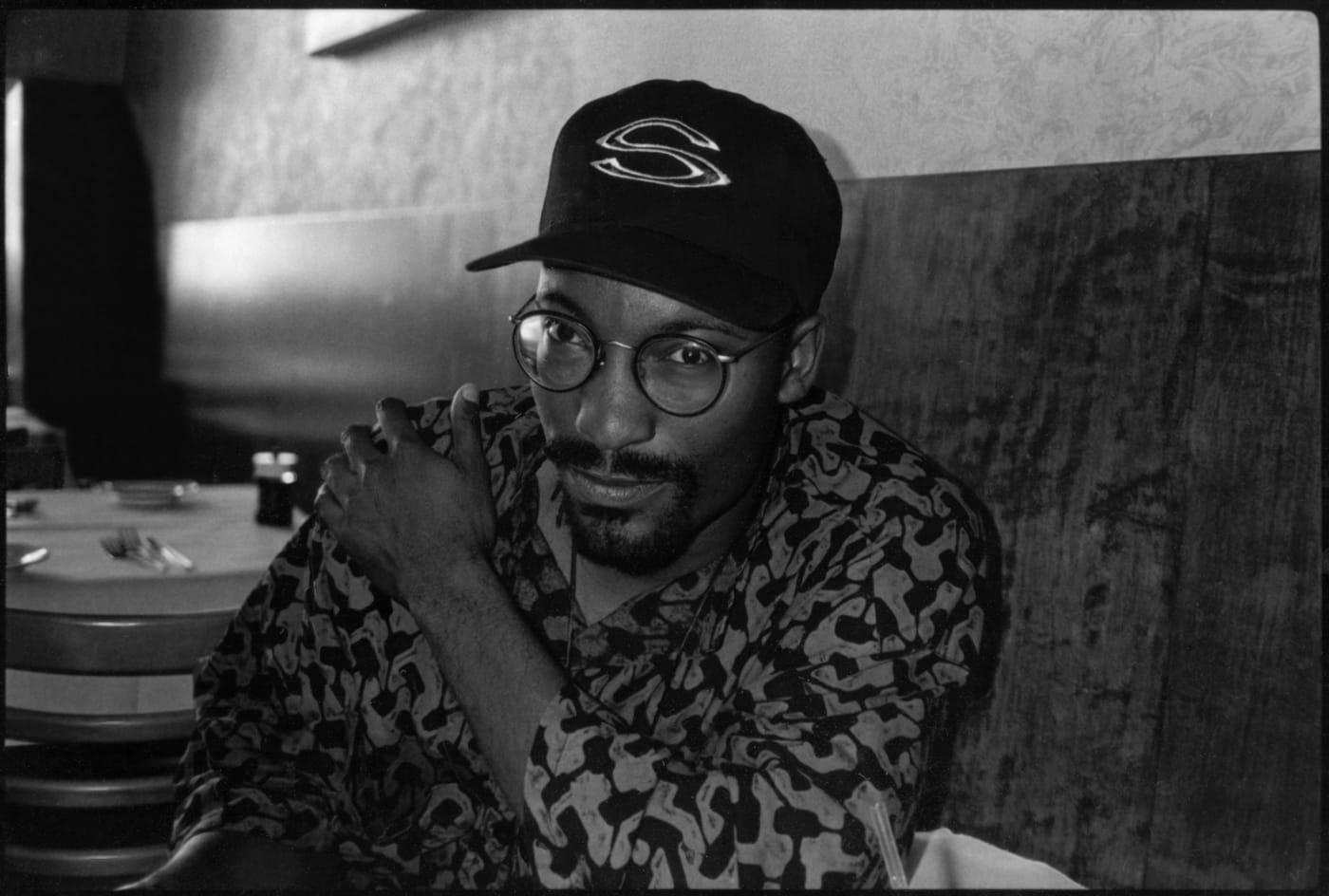 Portrait of John Singleton, Los Angeles, California, late 1980s or early 1990s