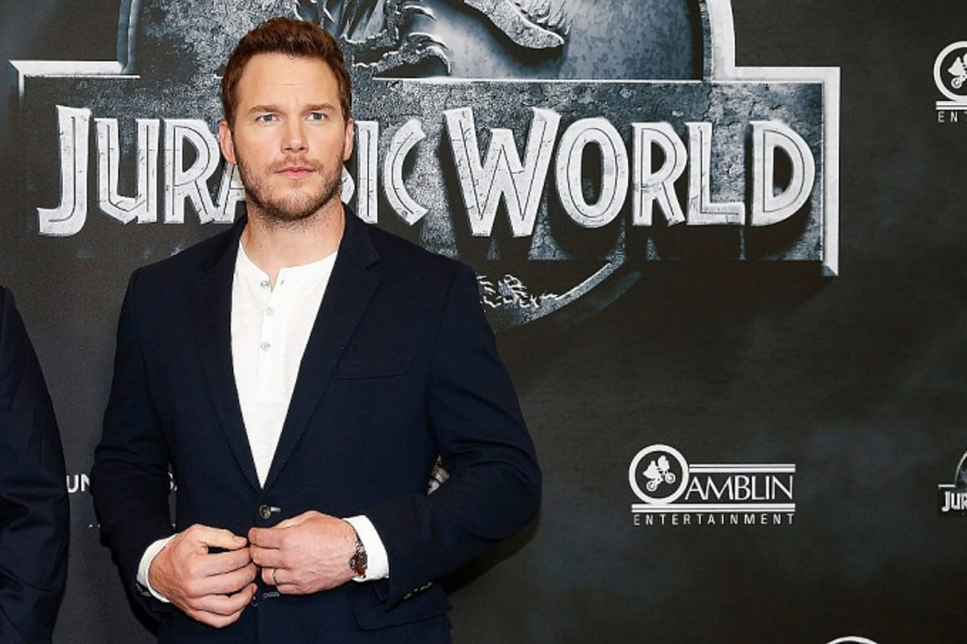 Chris Pratt of 'Jurassic World'