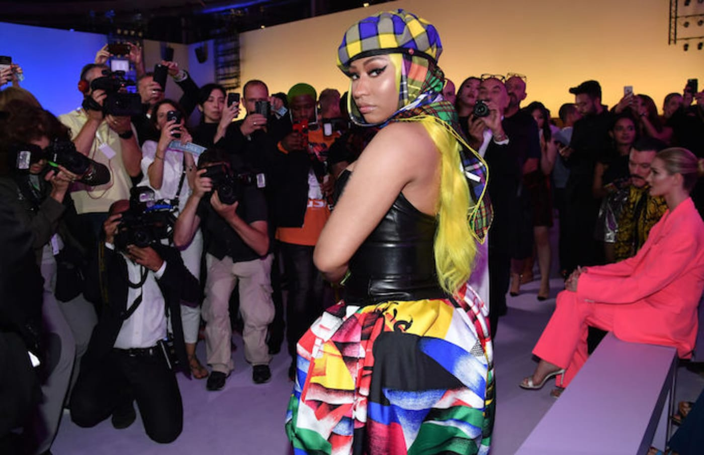 Nicki Minaj stopped my bag