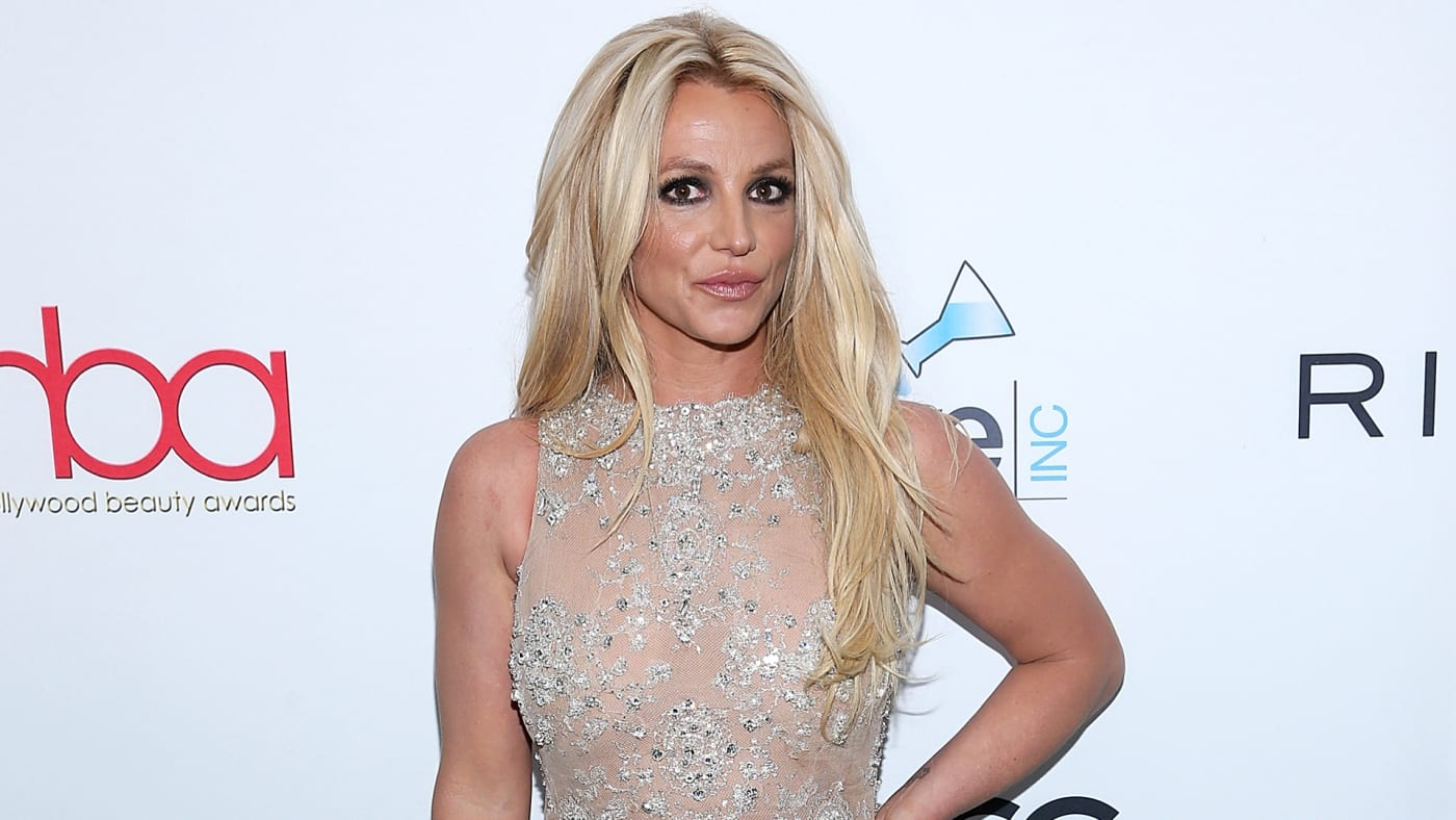 Britney Spears attends a red carpet event.