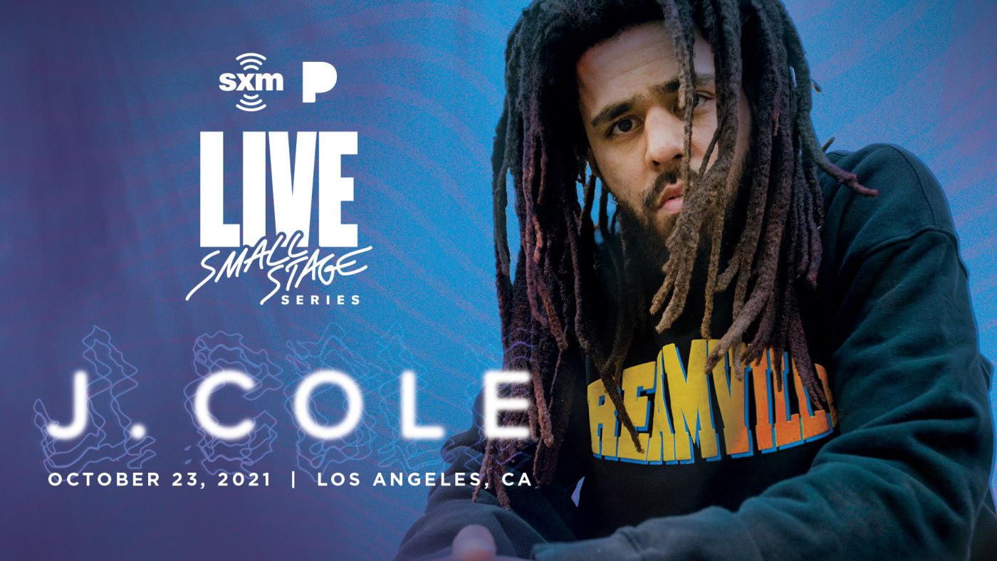 J. Cole SiriusXM x Pandora Small Stage Series