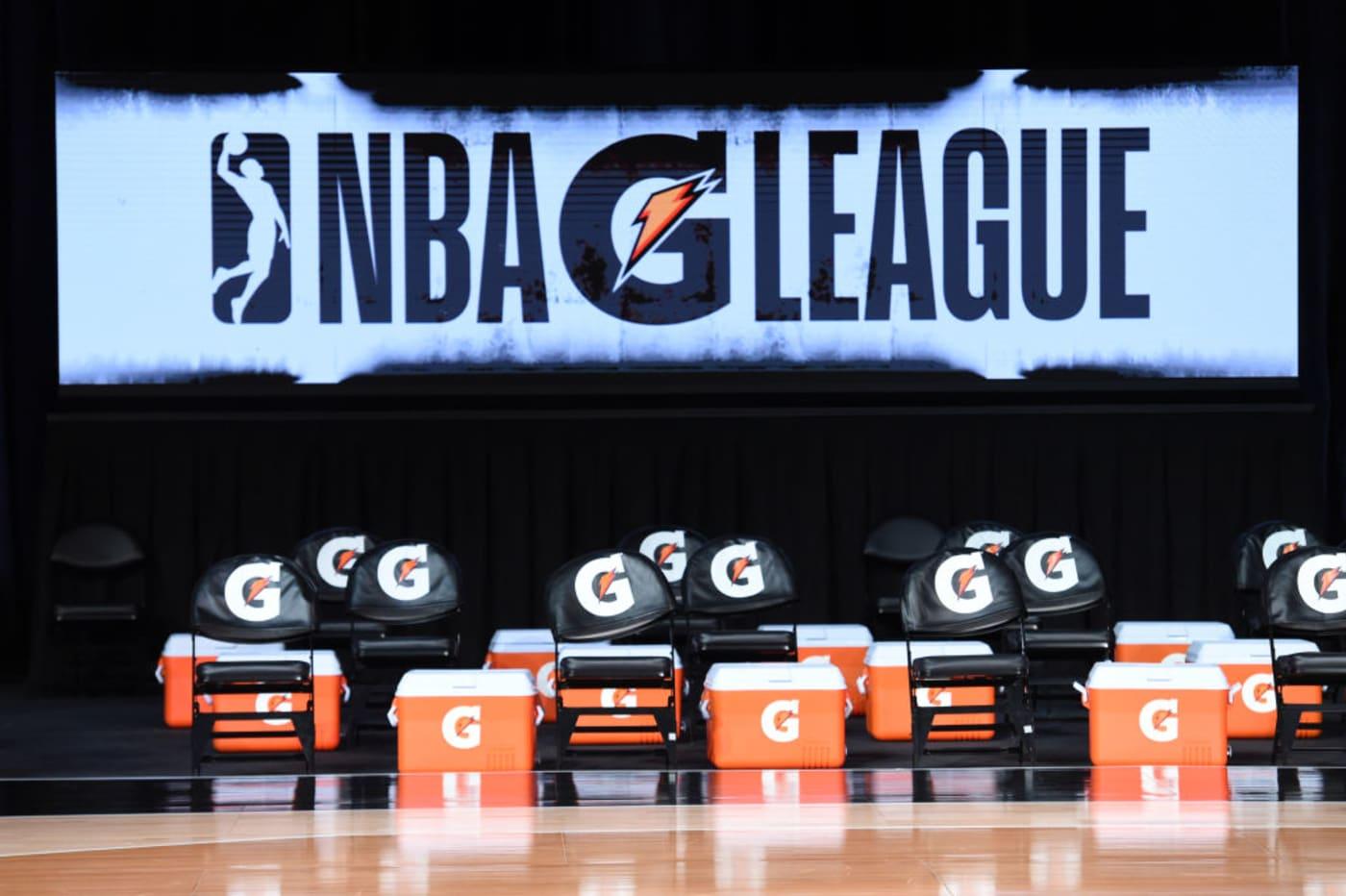 NBA G League Orlando Bubble 2021