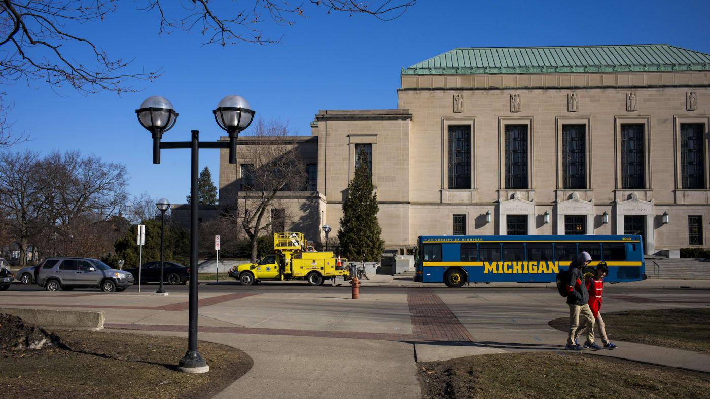 Horace H. Rackham Building At The University Of Michigan.