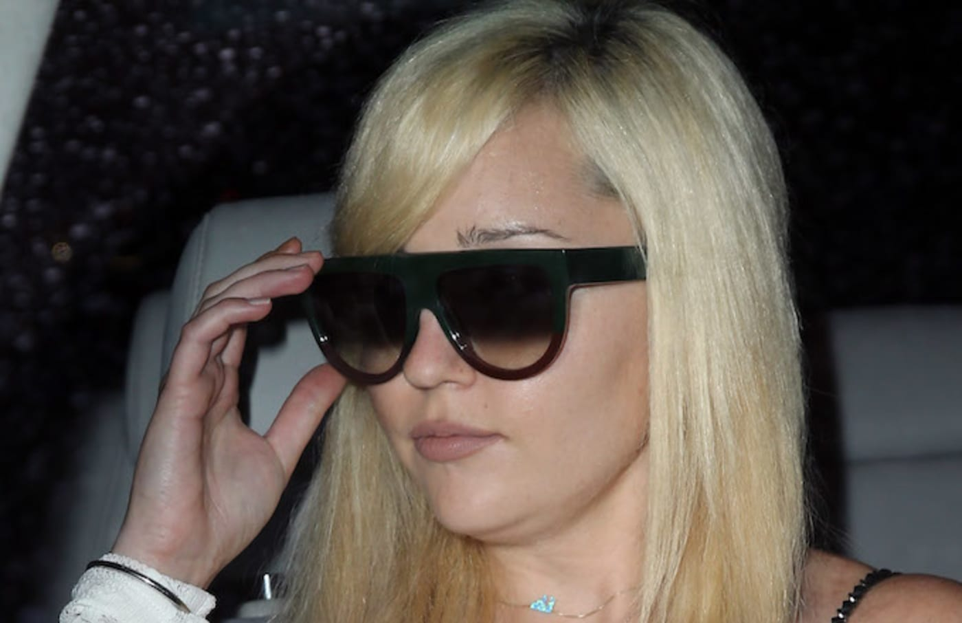 Amanda Bynes attends the Michael Costello and Style PR Capsule Collection launch party.