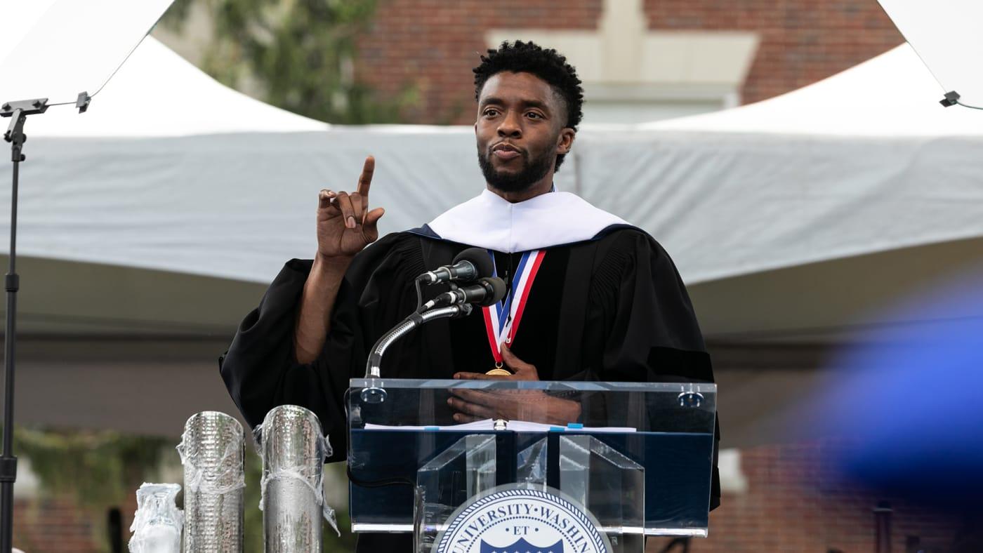 Chadwick Boseman, Howard University