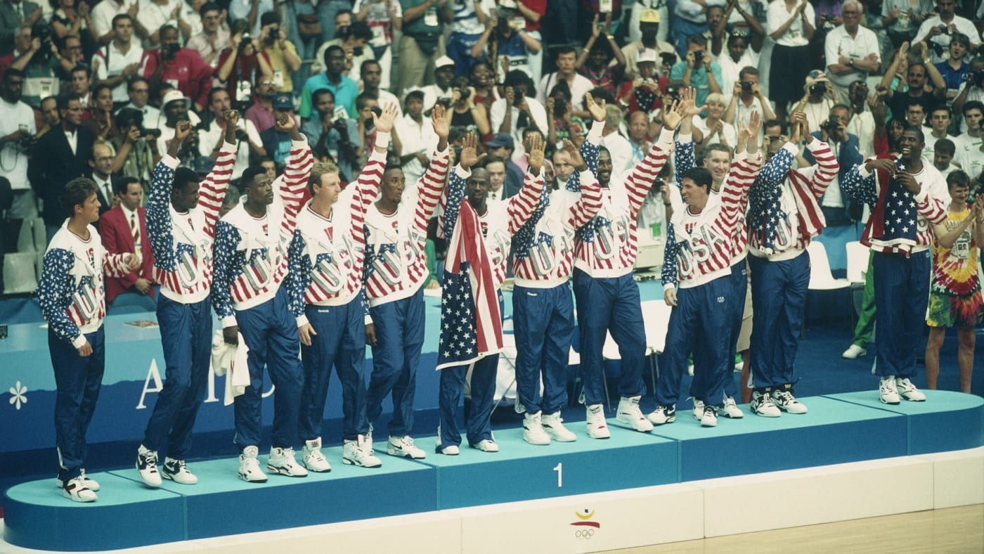 American basketball players of the Dream Team
