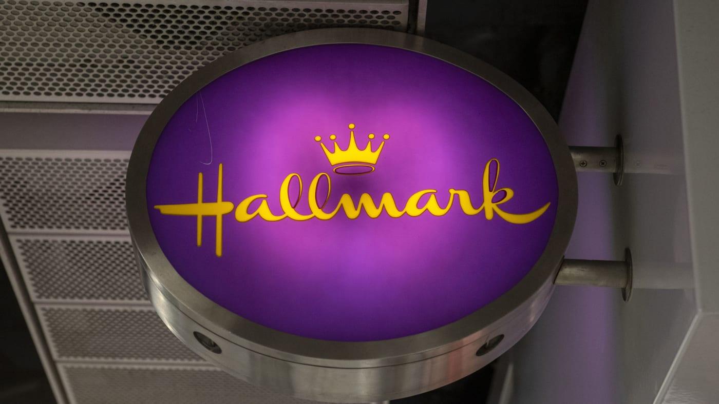 Hallmark sign