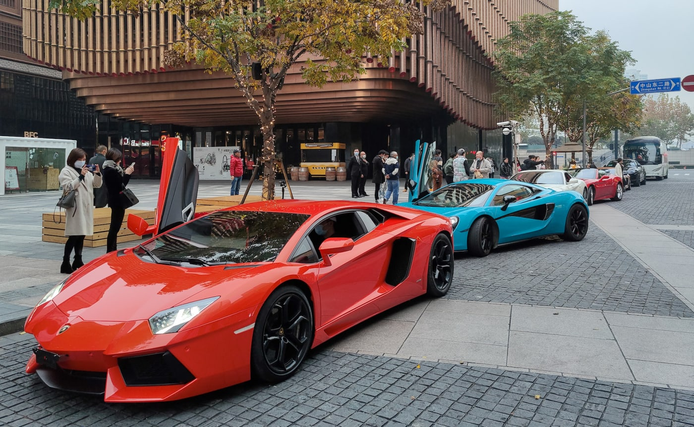 Ferrari and Lambo