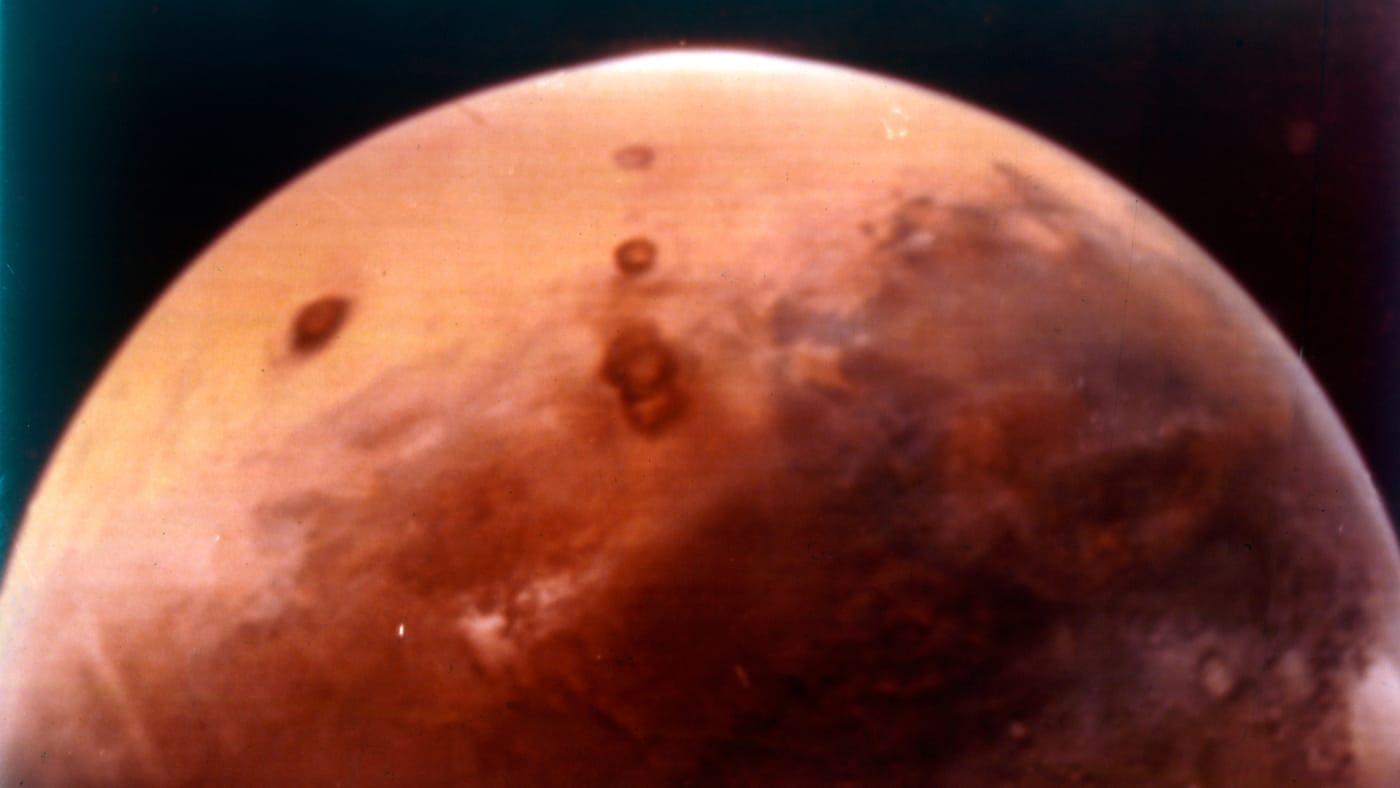 The Planet Mars. Artist NASA.