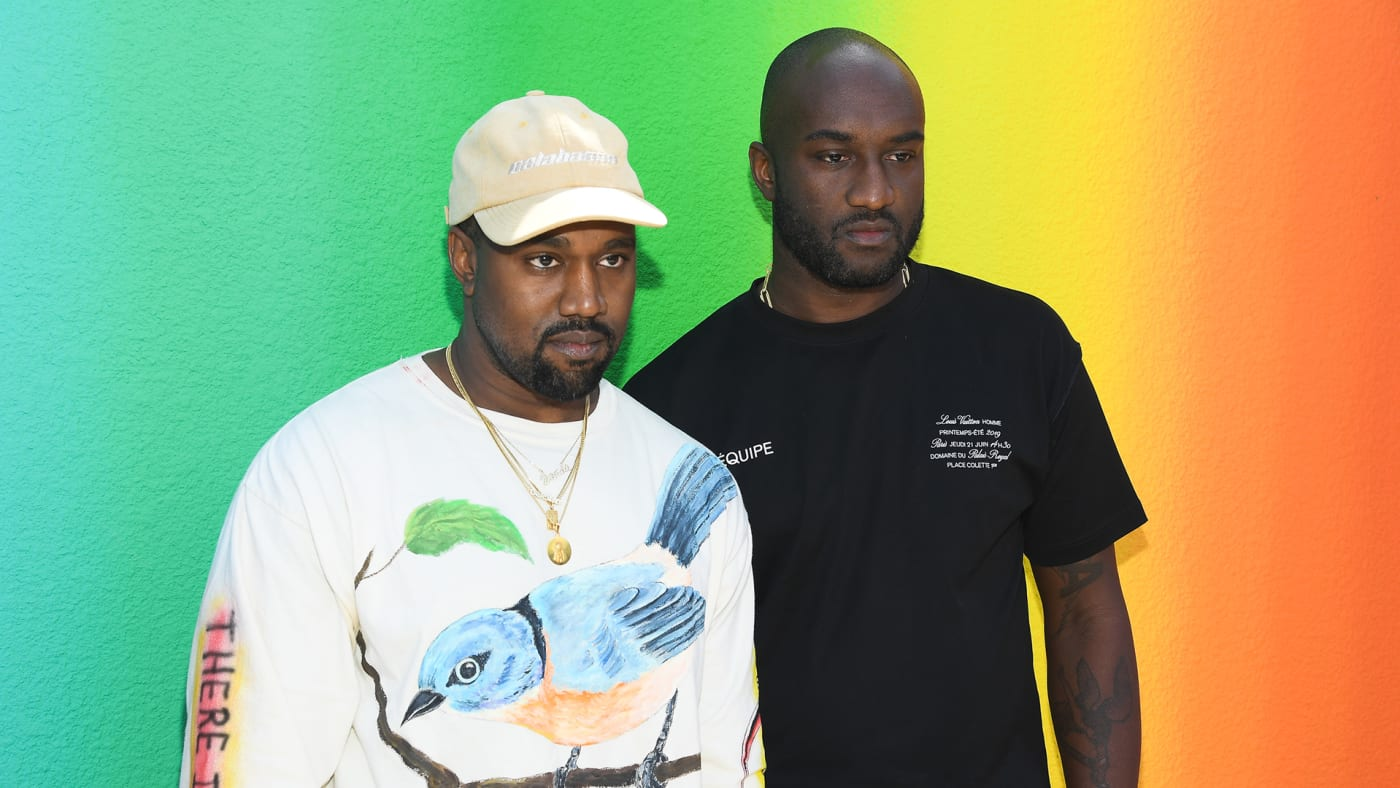 Kanye and Virgil