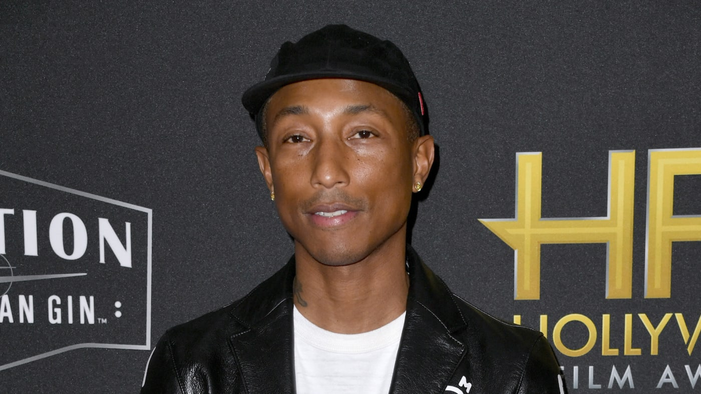 Pharrell Williams attends the 23rd Annual Hollywood Film Awards