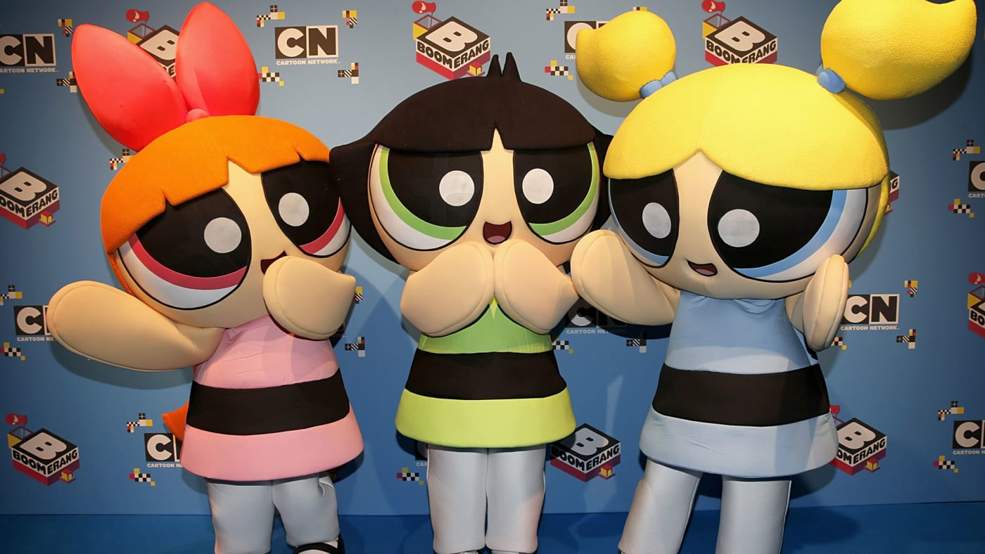 Powerpuff Girls mascots