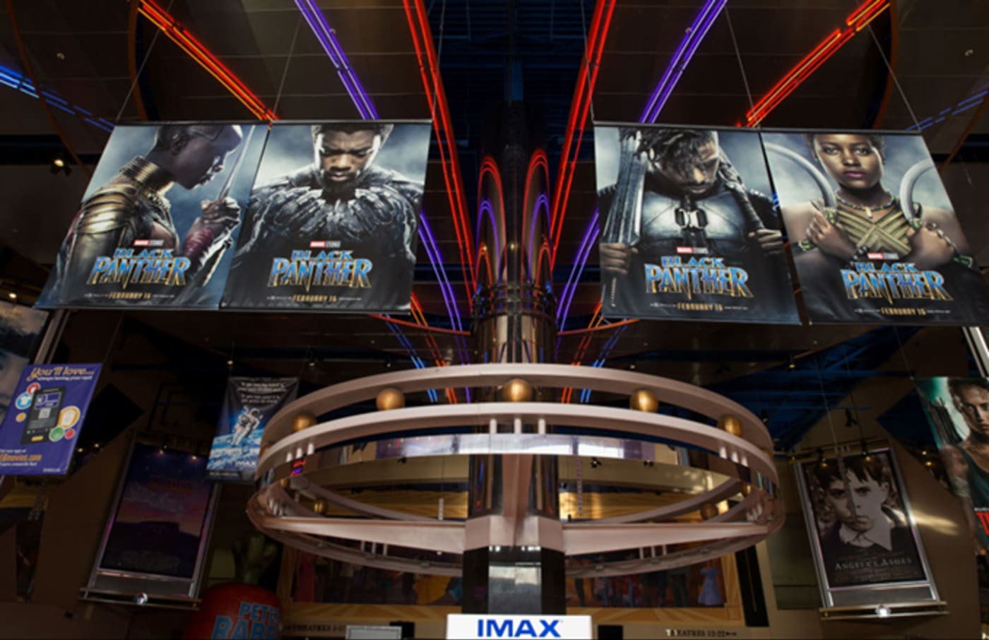 black panther theater posters getty