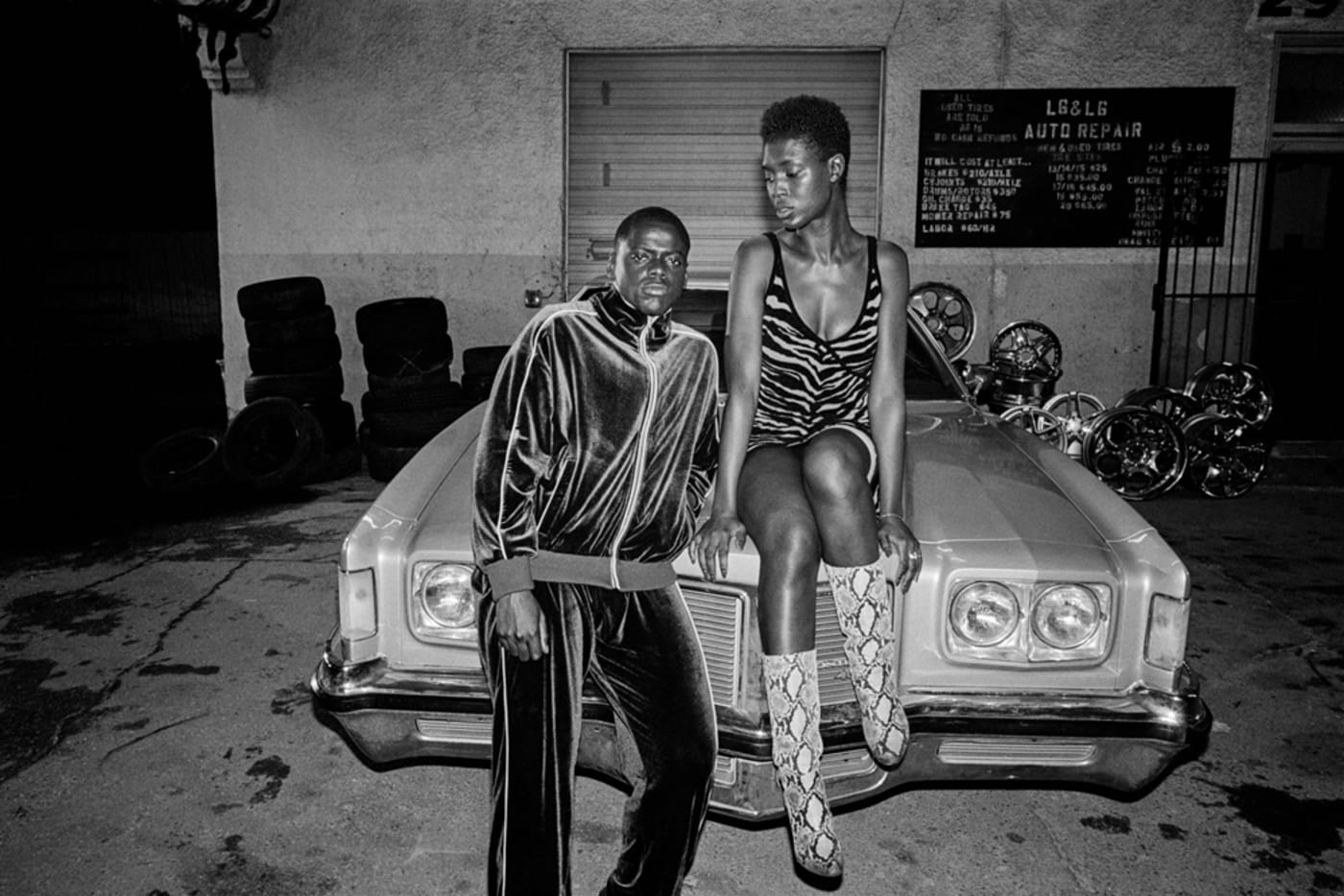 Daniel Kaluuya and Jodie Turner Smith in 'Queen & Slim'