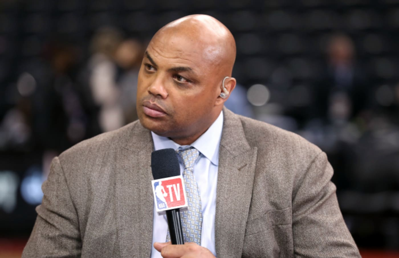 Charles Barkley provides commentary after Game One of the NBA Finals