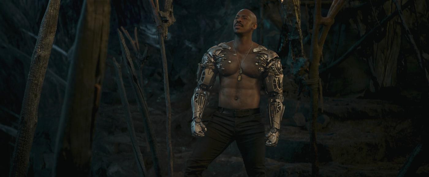 Mehcad Brooks as Jax in 'Mortal Kombat'