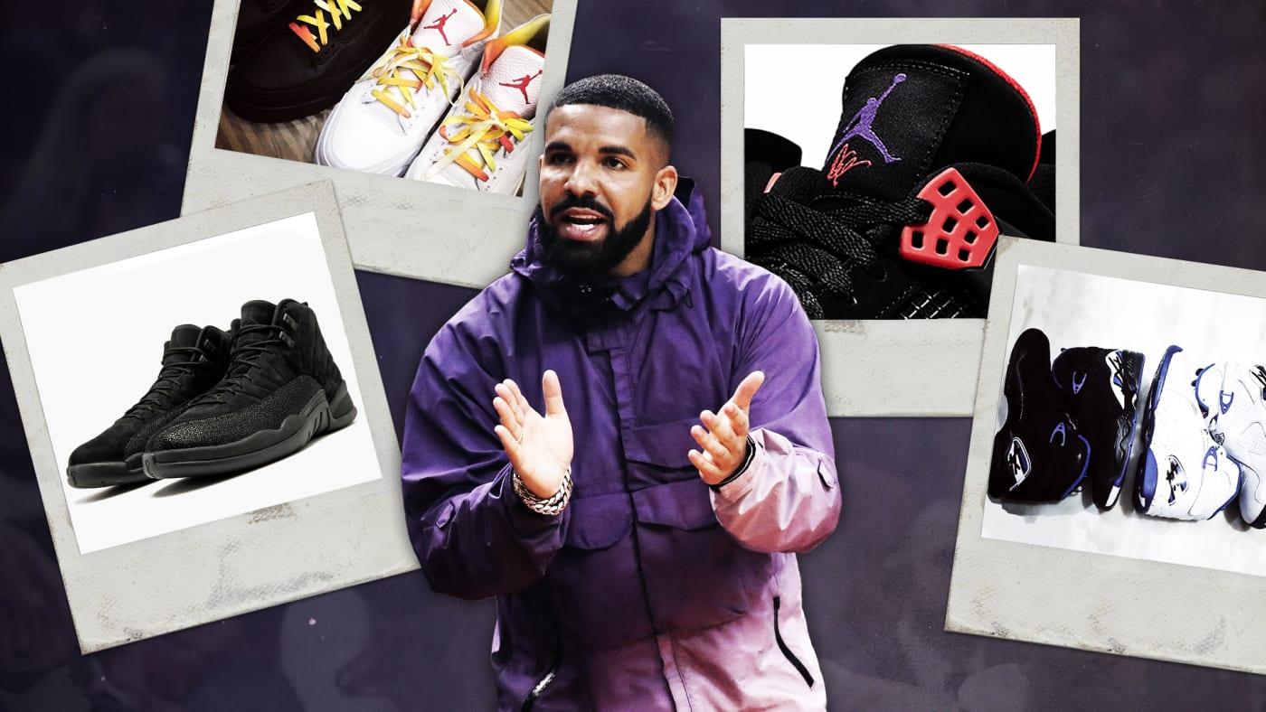 Drake Sneaker Collaborations