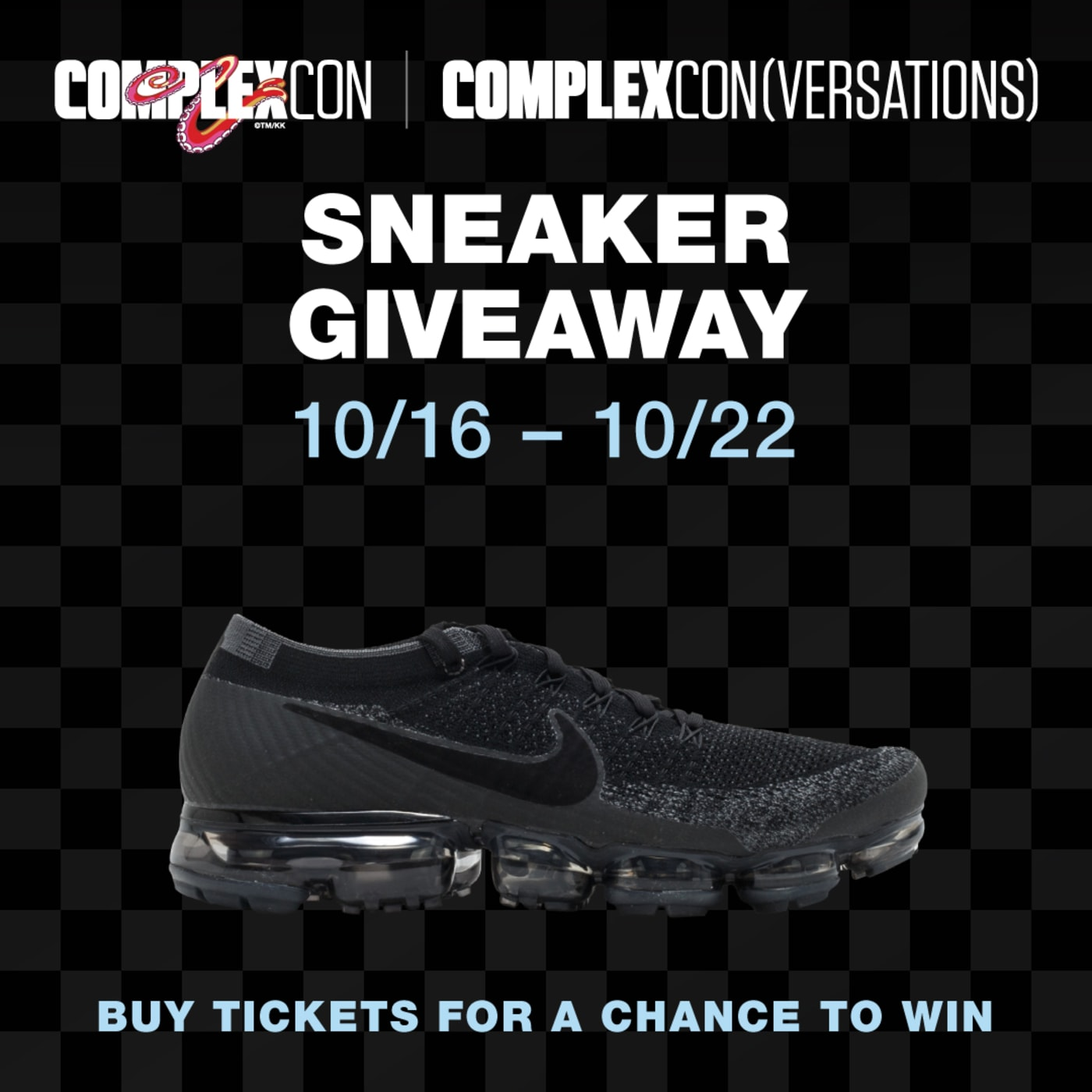 Nike VaporMax Giveaway