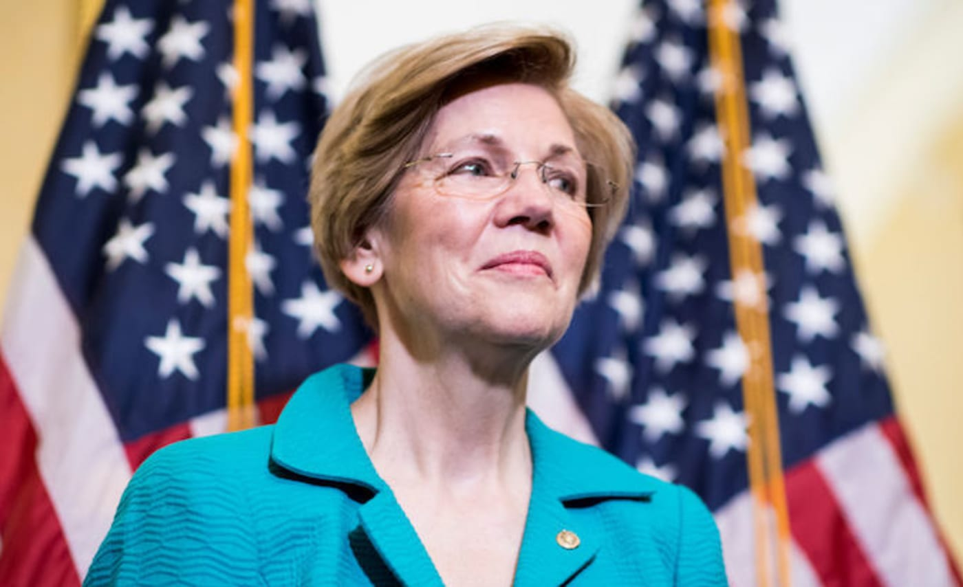 This is a picture of a Elizabeth Warren.