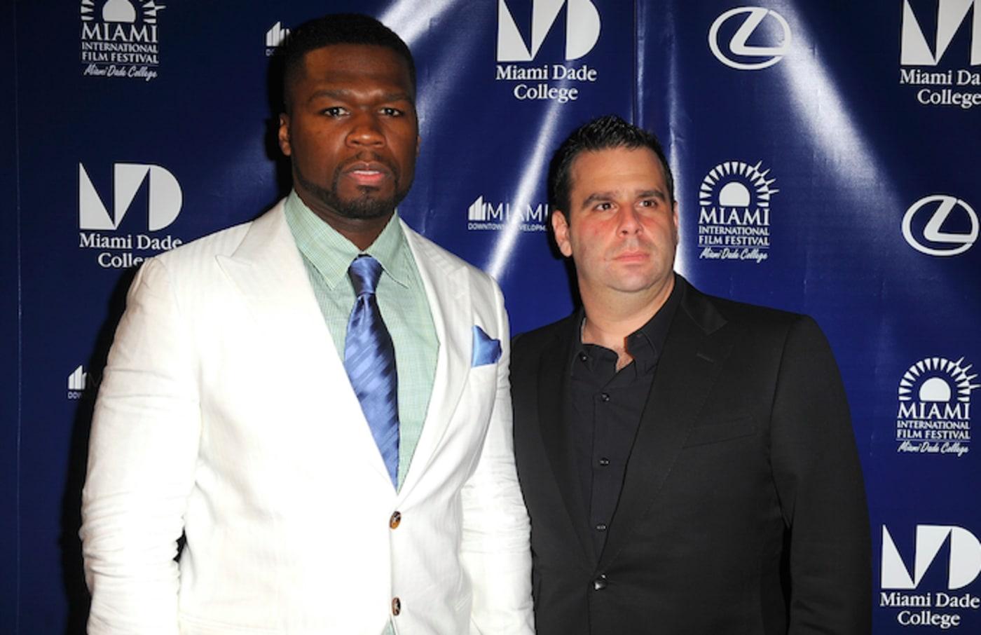 50 Cent and Randall Emmett