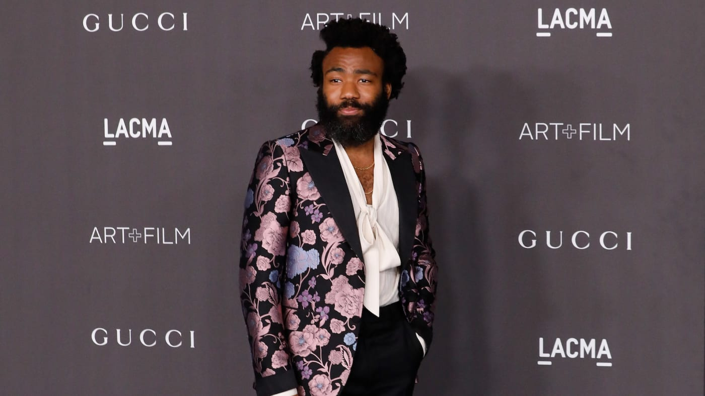 Donald Glover attends the 2019 LACMA Art + Film Gala.