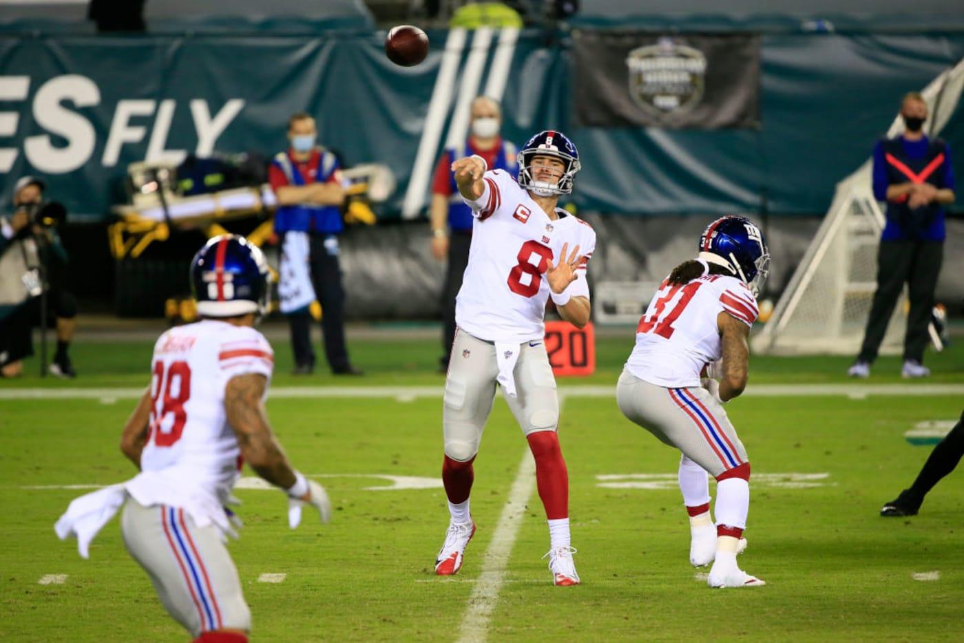 Danile Jones Evan Engram Giants Eagles 2020
