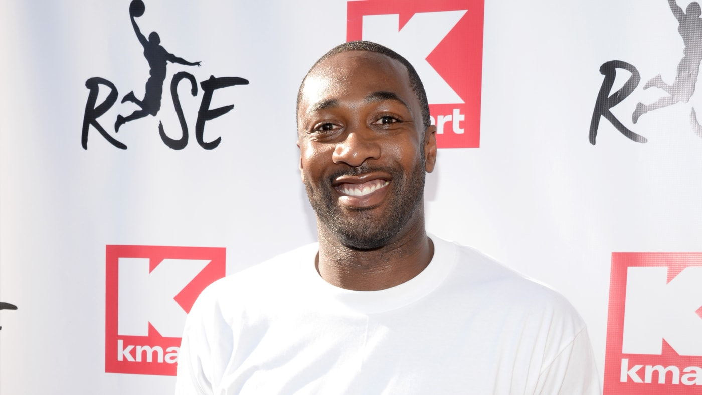 Gilbert Arenas attends the Rise Challenge presented by Kmart