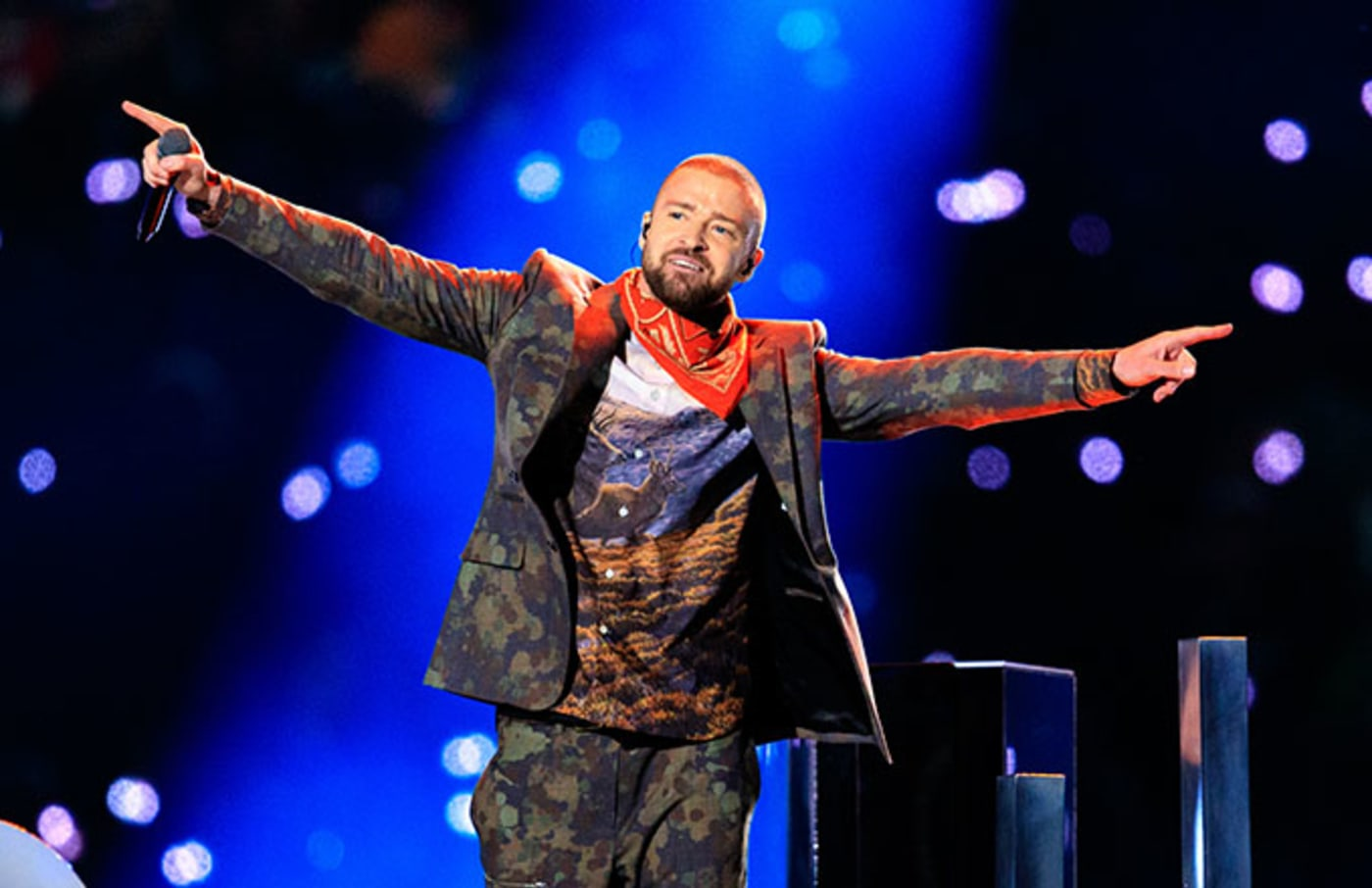 This is a photo of Justin Timberlake.