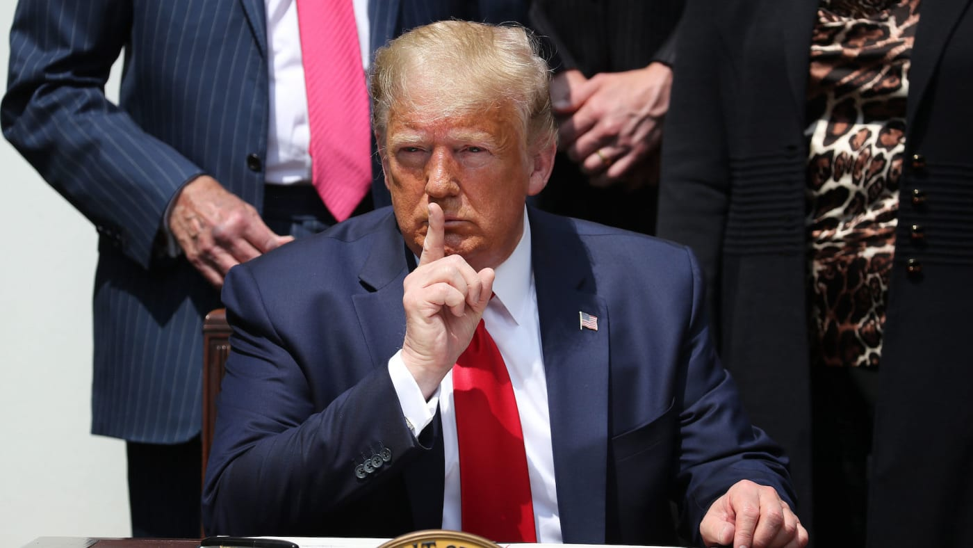 This is a photo of Trump.