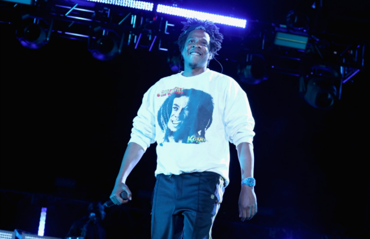 Jay Z performs onstage at SOMETHING IN THE WATER