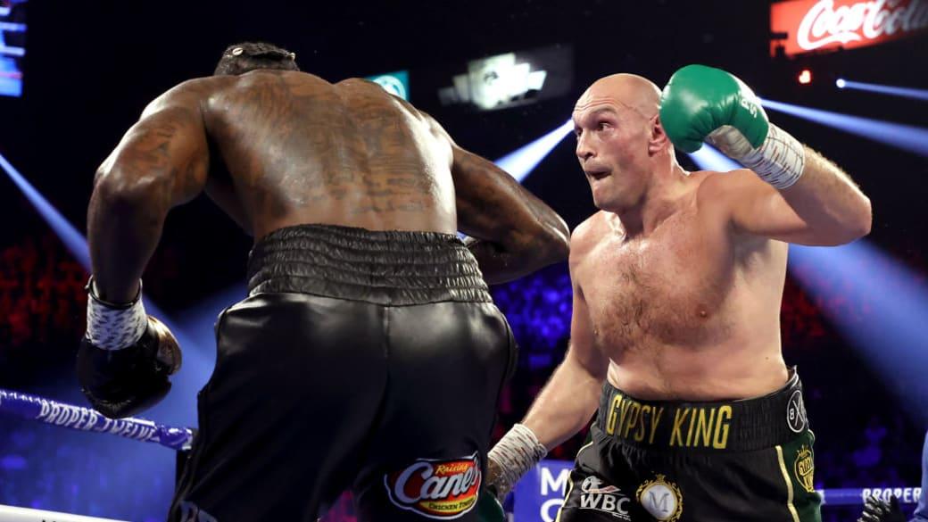 Tyson Fury Deontay Wilder Late Rounds Feb 2020