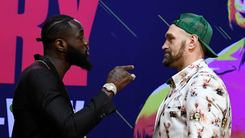 Deontay Wilder Tyson Fury First Press Conf LA 2019
