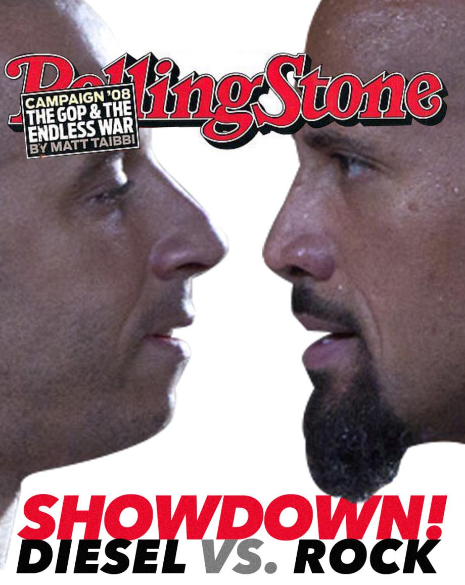 The Rock Vin Diesel Fast 8 Feud